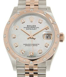 Rolex Datejust 18kt Rose Magic & Diamond Pink Automatic 278341rbr NGWT_J