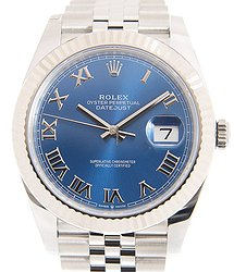 Rolex Datejust 18kt White Gold & Steel Blue Automatic 126334BLRN_J