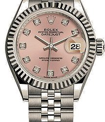 Rolex Datejust 27mm Steel and White Gold