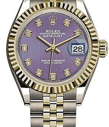 Rolex Datejust 28 mm Steel and Yellow Gold