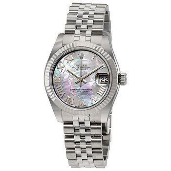 Купить часы Rolex Datejust 31 Goldust Dream Mother of Pearl 18K White Gold Bezel Ladies Watch  в ломбарде швейцарских часов