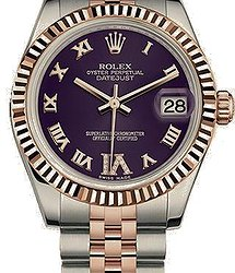 Rolex Datejust 31 mm, Oystersteel and Everose gold - Копия