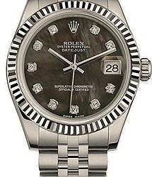 Rolex Datejust 31 mm, Oystersteel and white gold
