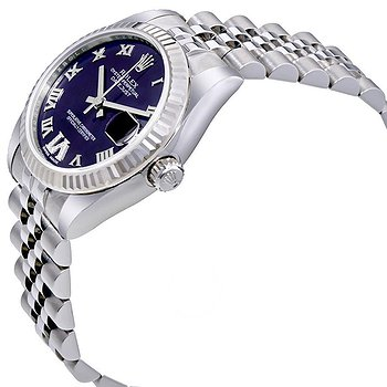Купить часы Rolex Datejust 31 Purple Dial Diamond Stainless Steel 18K White Gold Ladies Watch  в ломбарде швейцарских часов