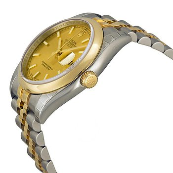 Купить часы Rolex Datejust 36 Champagne Dial Stainless Steel and 18K Yellow Gold Jubilee Bracelet Automatic Men's Watch  в ломбарде швейцарских часов