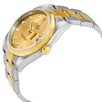 Купить часы Rolex Datejust 36 Champagne Dial Stainless Steel and 18K Yellow Gold Oyster Bracelet Automatic Men's Watch  в ломбарде швейцарских часов