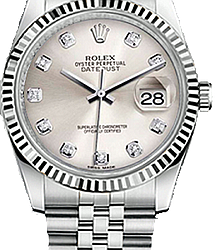 Rolex Datejust 36 mm Steel 116234 silver