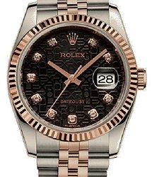 Rolex Datejust 36 MM STEEL AND EVEROSE GOLD