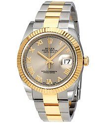 Rolex Datejust 36 Rhodium Dial Steel and 18K Yellow Gold Men's Watch