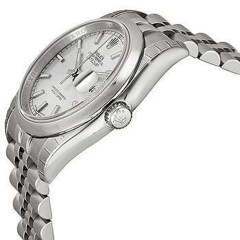 Купить часы Rolex Datejust 36 Silver Dial Stainless Steel Jubilee Bracelet Automatic Men's Watch  в ломбарде швейцарских часов