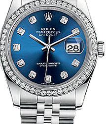 Rolex Datejust 36mm 116244 blue