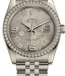 Rolex Datejust 36mm Steel and White