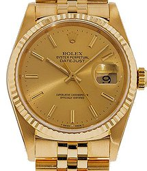 Rolex Datejust 36mm Yellow gold