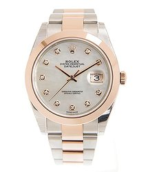 Rolex Datejust 41 Automatic Chronometer Diamond Men's Watch 126301MDO