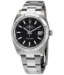 Rolex Datejust 41 Black Dial Stainless Steel Automatic Men's Watch