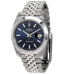 Rolex Datejust 41 Blue Dial Automatic Men's Watch