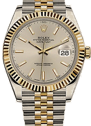Rolex Datejust41 mm, steel and yellow gold