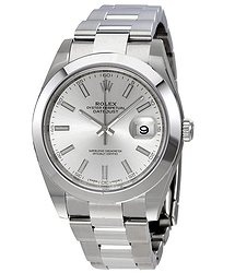 Rolex Datejust 41 Silver Dial Stainless Steel Automatic Men's Watch