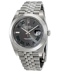 Rolex Datejust 41 Slate Dial Automatic Men's Jubilee Watch