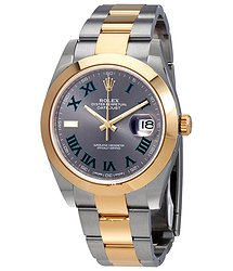 Rolex Datejust 41 Slate Dial Automatic Men's Steel and 18kt Yellow Gold Oyster Watch 126303GYRO