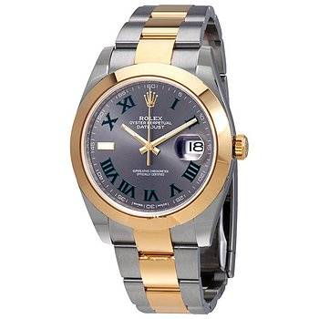 Купить часы Rolex Datejust 41 Slate Dial Automatic Men's Steel and 18kt Yellow Gold Oyster Watch 126303GYRO  в ломбарде швейцарских часов