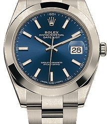 Rolex Datejust 41mm Stainless Steel