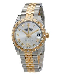 Rolex Datejust Automatic Silver Dial Ladies Watch