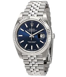 Rolex Datejust Blue Dial Automatic Men's Jubilee Watch