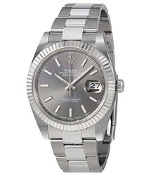 Rolex Datejust Dark Rhodium Automatic Men's Oyster Watch
