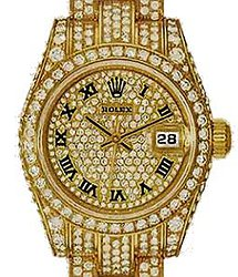 Rolex Datejust Diamond Set Gold 26mm