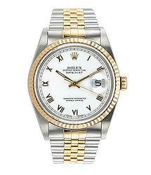 Rolex Datejust II 36mm Steel and Yellow Gold 16233
