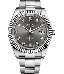 Rolex Datejust II 41mm Steel and White Gold 116334