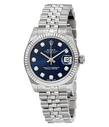 Rolex Datejust Lady 31 Blue Dial Stainless Steel Jubilee Bracelet Automatic Watch 178274BLDJ