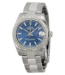 Rolex Datejust Lady 31 Blue Dial Stainless Steel Oyster Bracelet Automatic Watch