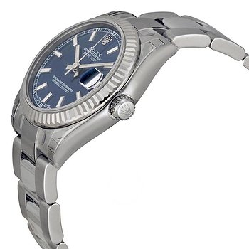 Купить часы Rolex Datejust Lady 31 Blue Dial Stainless Steel Oyster Bracelet Automatic Watch  в ломбарде швейцарских часов