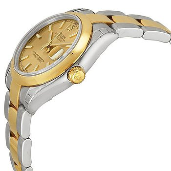 Купить часы Rolex Datejust Lady 31 Champagne Dial Stainless Steel and 18K Yellow Gold Oyster Bracelet Automatic Watch  в ломбарде швейцарских часов
