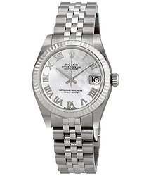 Rolex Datejust Lady 31 Mother of Pearl Dial Stainless Steel Jubilee Bracelet Automatic Watch