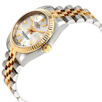 Купить часы Rolex Datejust Lady 31 Silver Dial Stainless Steel and 18K Yellow Gold Jubilee Bracelet Automatic Watch  в ломбарде швейцарских часов