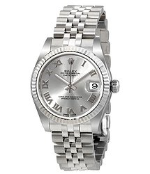 Rolex Datejust Lady 31 Silver Dial Stainless Steel Jubilee Bracelet Automatic Watch