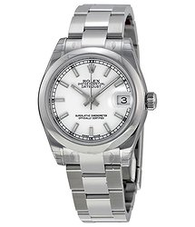 Rolex Datejust Lady 31 White Dial Stainless Steel Oyster Bracelet Automatic Watch