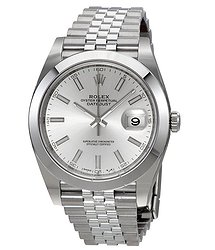 Rolex Datejust Silver Dial Automatic Men's Jubilee Watch