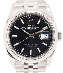 Rolex Datejust Stainless Steel Black Automatic 126200BK_J