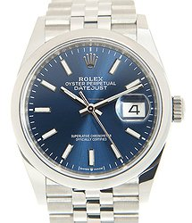 Rolex Datejust Stainless Steel Blue Automatic 126200BL_J