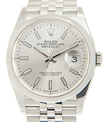Rolex Datejust Stainless Steel Silver Automatic 126200SV_J