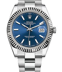 Rolex Datejust steel and white gold  126334-0001