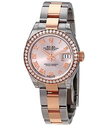 Rolex Datejust Sundust Dial Automatic Ladies Steel and 18K Oyster Watch
