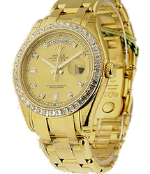 Rolex Day-Date Yellow Gold with Baguette Diamond