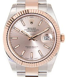 Rolex Day-date 18kt Rose Gold & Steel Brown Automatic 126331SUNDUST_O