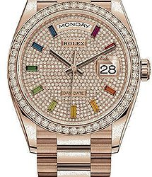 Rolex Day-Date 36mm Everose Gold