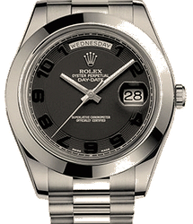 Rolex Day-Date II 41mm Platinum